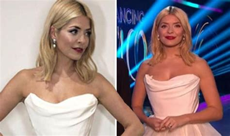 uk celebrities getting married in 2018 dancing on ice 2018 holly willoughby shocks in wedding