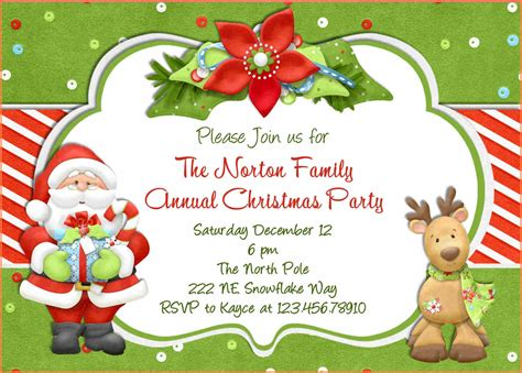 how to prepare invitation christmas card hd 15 invitation template sle paystub