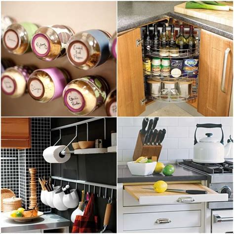 hack storage 13 ingenious storage hacks for your tiny kitchen