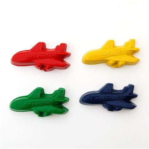 Airplane Giveaways - airplane party favors package of 12 plane shaped crayons on luulla