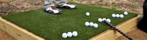 Make Your Own Golf Mat by Elements Of Practice Wedge Boxes Synlawn Golf Canada