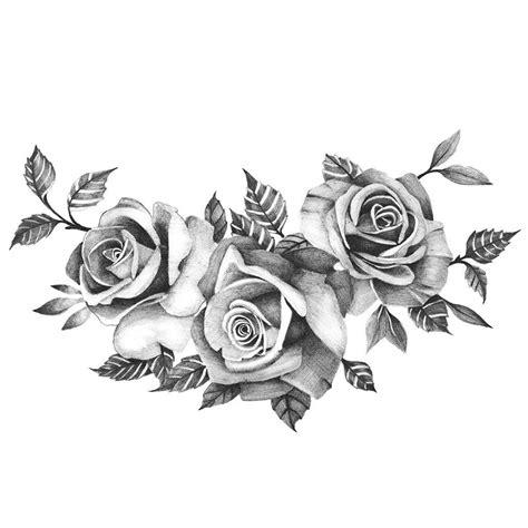 3 rose tattoos three roses temporary