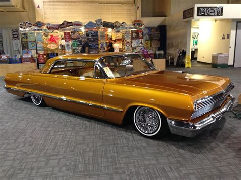 heres   gold    impala kustom custom