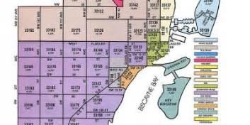 Miami Zip Code Map by Miami Map Maps Miami Florida Usa