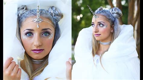 hairstyles costume unicorn half up hairstyle diy halloween costumes cute