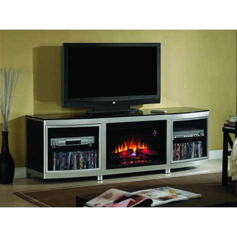 tv consoles with electric fireplace object moved