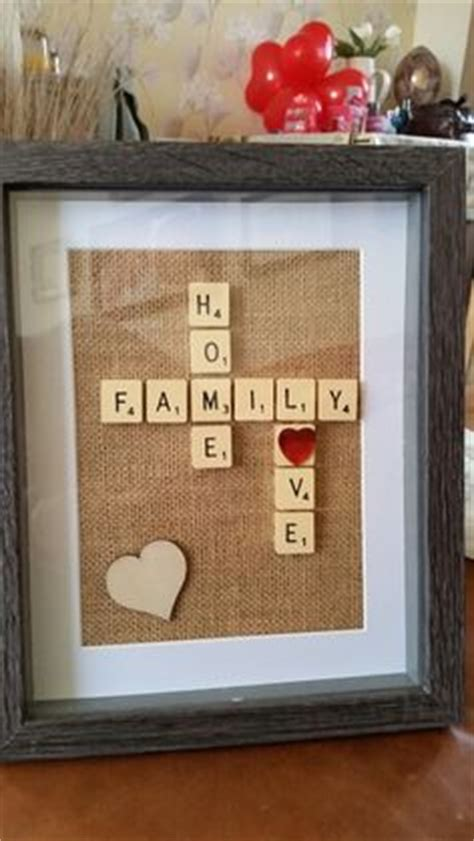 Wedding Box Nelspruit by In Stock Chevron Scrabble Shadow Box Personalized