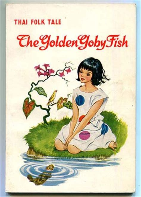 royal a fish tale books the golden goby fish pla boo thai folk tale