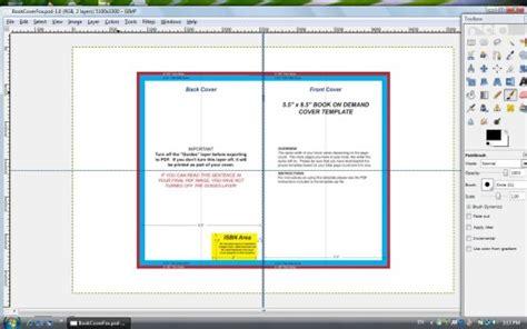 How To Make A Createspace Cover Using Gimp Createspace Templates