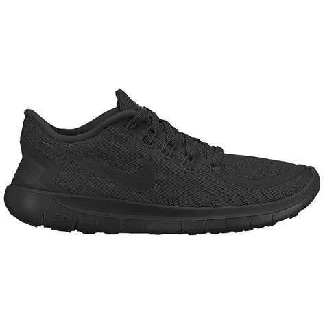 free run shoe new mens quot all black quot nike free 5 0 running shoes all