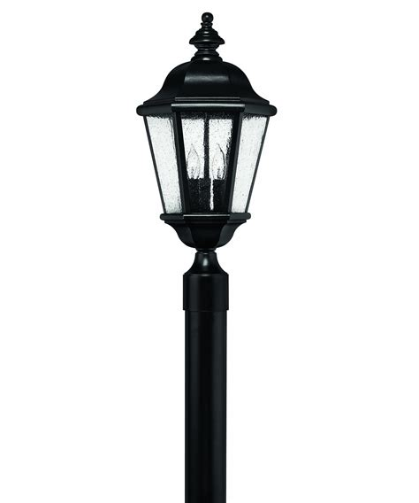 lantern post light outdoor hinkley lighting 1671 edgewater 3 light outdoor post l