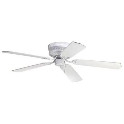 home depot hugger ceiling fans progress lighting airpro hugger 52 in white ceiling fan