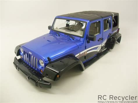 new bright rc jeep wrangler new bright 1 10 jeep wrangler unlimited blue scale