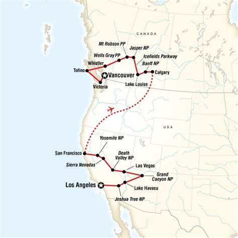 map of west coast usa and canada west coast discovery us canada in united states