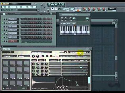 drum pattern fruity loops fl studio tutorial beginners how to use fpc drum kits
