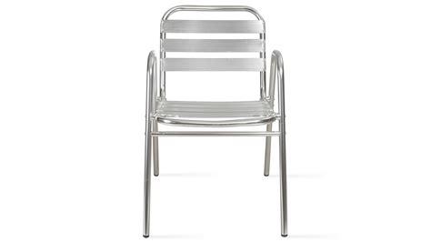 chaises aluminium fauteuil de jardin en aluminium