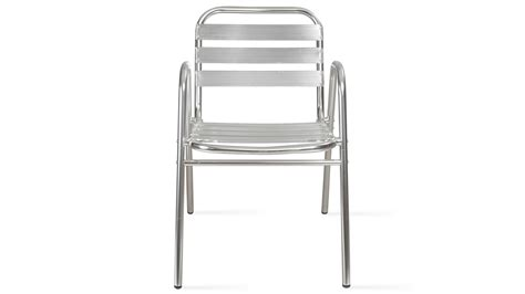 fauteuil de jardin en aluminium