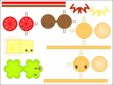 Kawaii Papercraft - paper crafts paper crafts ideas for