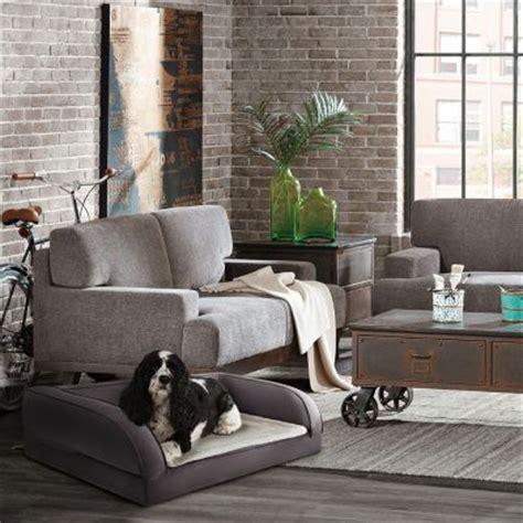 divani per cani divano ortopedico per cani grigio zooplus