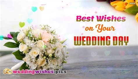 Wedding Wishes For And In by Wedding Wishes