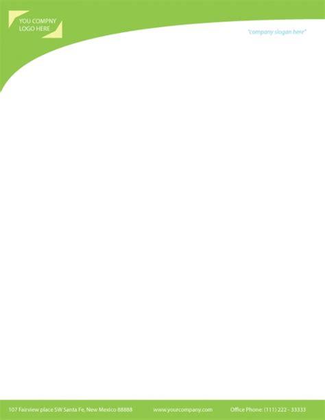 small business letterhead exle blank letterhead templates free letters font