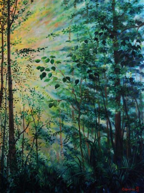 jungle light jungle light 1 painting