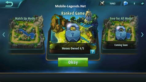 mobile legends rank about ranked 2018 mobile legends