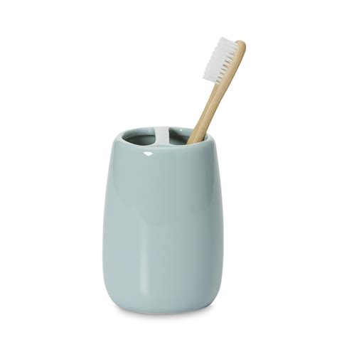 essential home ceramic toothbrush holder home bed
