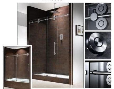 Barn Shower Door Modern Frameless Barn Style Sliding Glass Shower Door