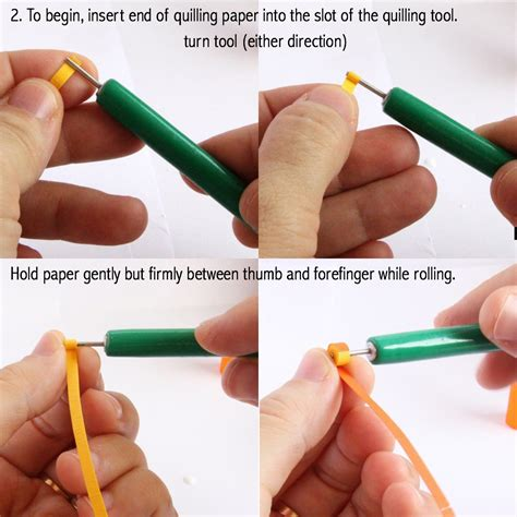 Steps To Make Paper Quilling - easy diy stuff paper quilling