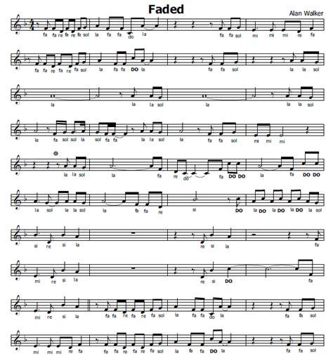 aggiungi un posto a tavola accordi musica e spartiti gratis per flauto dolce faded