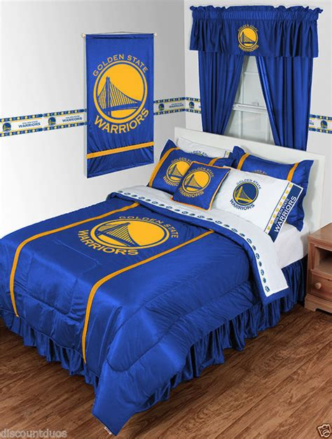 nba basketball golden state warriors comforter and