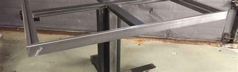 tafel onderstel staal stalen tafel onderstel op maat staalmaker