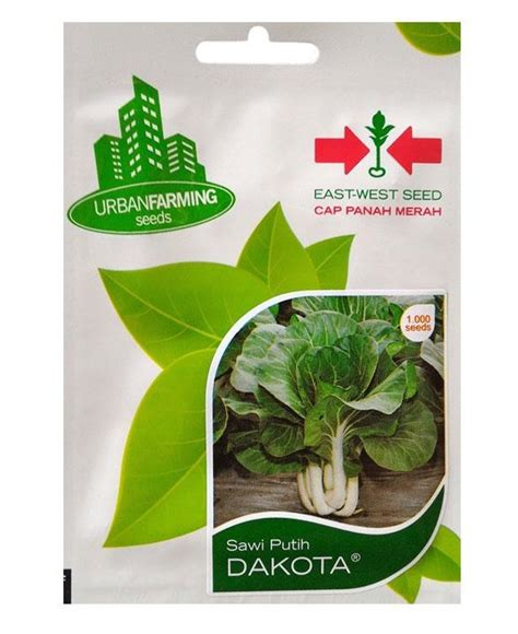 Bibit Sayuran Cap Panah Merah benih sawi putih dakota cap panah merah jualbenihmurah