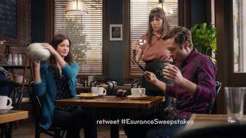 Esurance Sweepstakes - last night s ads baldwin suffers post game hangover media adage