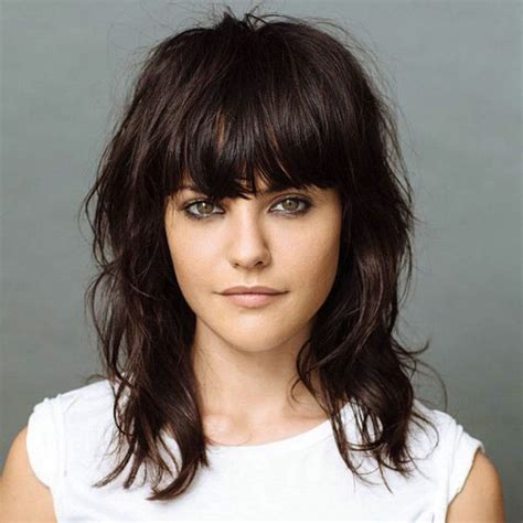 hairstyles with bangs 2018 young girl bangs shoulder length sweet hairstyles 2017
