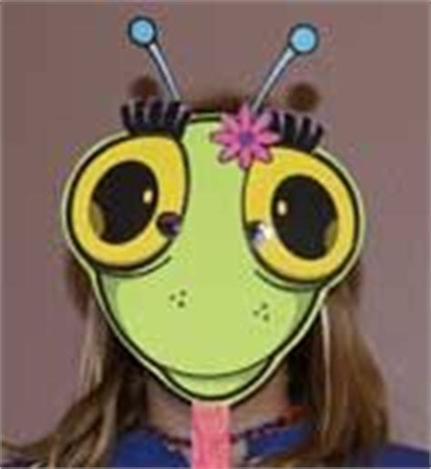 printable grasshopper mask create a bug mask scroll to bottom of the page for link