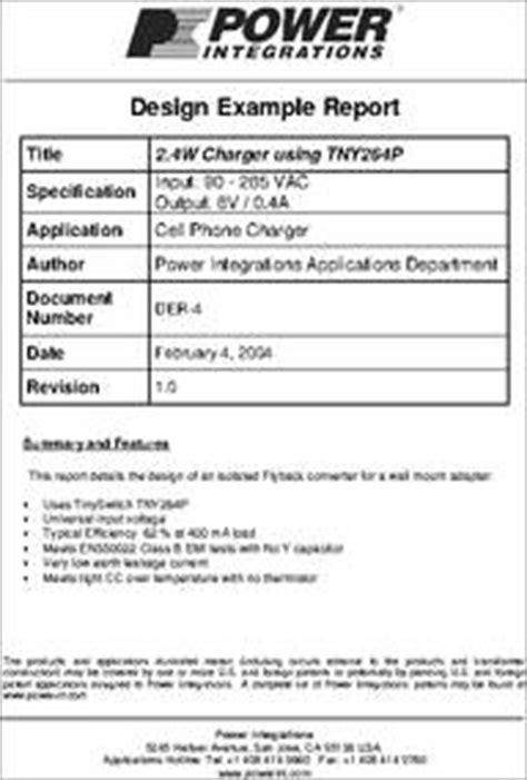 Diskon Ic Tny264pn Line Switcher tny264pn datasheet 2 4w cell phone charger