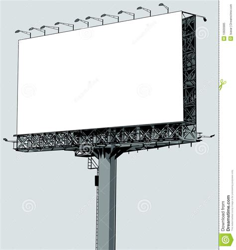 crestock royalty free stock photos vector vector illustration of a blank billboard stock vector