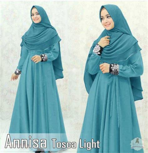 Baju Muslim Gamis Syari Modern Yara Tosca baju gamis maxmara terbaru annisa toska model baju gamis terbaru