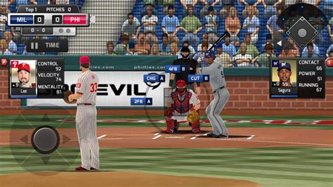 baseball apk mlb inning is a console quality baseball sim for android androidshock