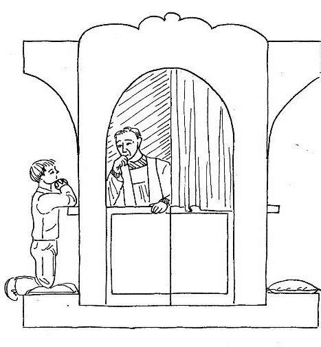 first confession coloring pages coloring pages