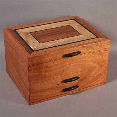 Jewelry Containers For Drawers by Koa Jewelry Box