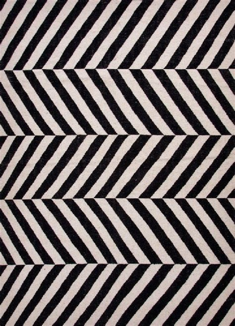black and white wool rug herringbone moroccan salma wool rug black white