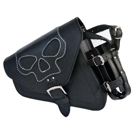 Harley Davidson Bag harley davidson sportster black leather left saddle