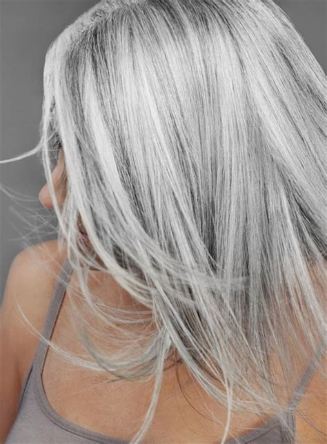 hairstyle ideas for grey hair 17 best ideas about white hair on pinterest loose curls