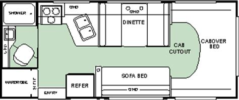 24 foot motorhome floor plans colorado rv floor plans colorado rv