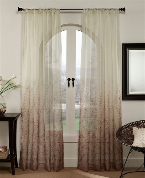 peri drapes peri window treatments sonoma 50 quot x 95 quot panel sheer