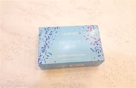 Laneige Delights Pop Best Sellers Trial Kit 5 Items set dưỡng da laneige delights pop trial kit edition 5 items thế giới mỹ phẩm b 236 nh