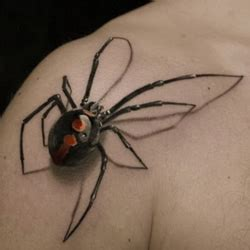 tribal black widow tattoo spider meanings itattoodesigns